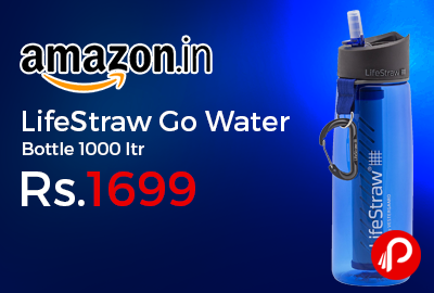 LifeStraw Go Water Bottle 1000 ltr