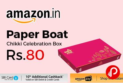 Paper Boat Chikki Celebration Box