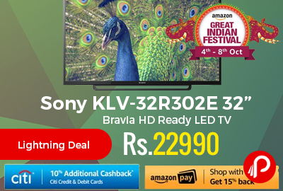 "Sony KLV-32R302E 32"" Bravia HD Ready LED TV"