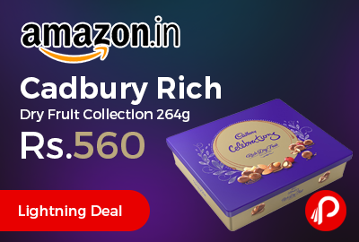 Cadbury Rich Dry Fruit Collection 264g
