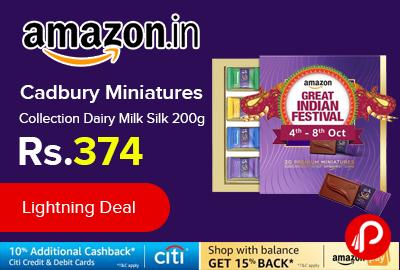 Cadbury Miniatures Collection Dairy Milk Silk 200g