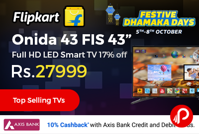 "Onida 43 FIS 43"" Full HD LED Smart TV"