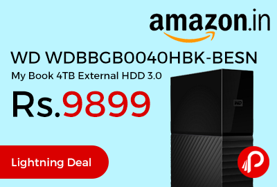 WD WDBBGB0040HBK-BESN My Book 4TB External HDD 3.0