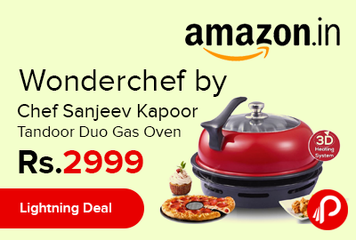 Wonderchef by Chef Sanjeev Kapoor Tandoor Duo Gas Oven