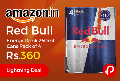Red Bull Energy Drink 250ml Cans Pack of 4