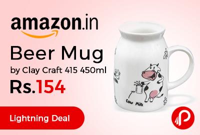 Beer Mug by Clay Craft 415 450ml