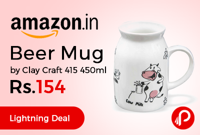 Beer Mug by Clay Craft 415 450ml