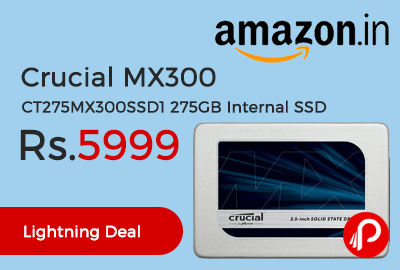 Crucial MX300 CT275MX300SSD1 275GB Internal SSD