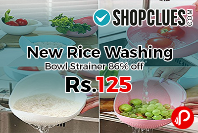 New Rice Washing Bowl Strainer