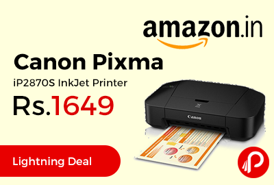 Canon Pixma iP2870S InkJet Printer