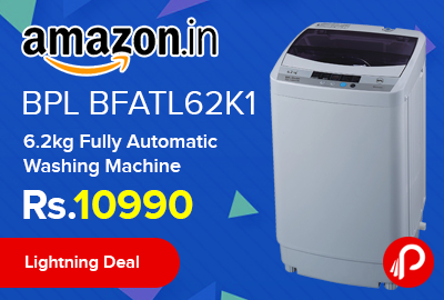 BPL BFATL62K1 6.2kg Fully Automatic Washing Machine