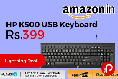 HP K500 USB Keyboard