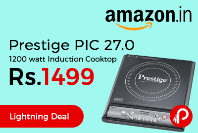 Prestige PIC 27.0 1200 watt Induction Cooktop