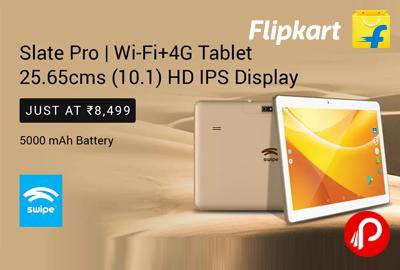 """Swipe Slate Pro 10.1"""" Wi-Fi+4G Tablet"""