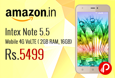 Intex Note 5.5 Mobile