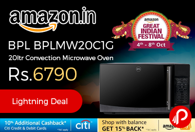 BPL BPLMW20C1G 20ltr Convection Microwave Oven
