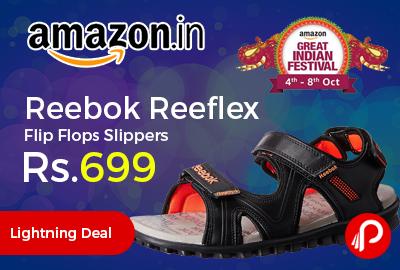 Reebok Men's Reeflex Flip Flops Slippers