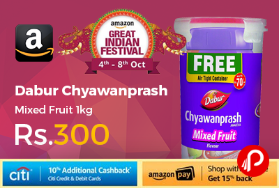 Dabur Chyawanprash Mixed Fruit 1kg