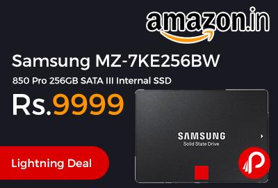 Samsung MZ-7KE256BW 850 Pro 256GB SATA III Internal SSD