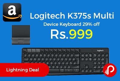 Logitech K375s Multi Device Keyboard