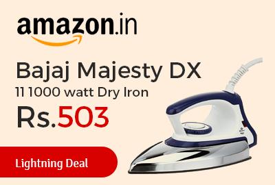 Bajaj Majesty DX 11 1000 watt Dry Iron