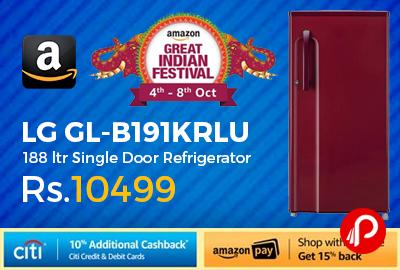 LG GL-B191KRLU 188 ltr Single Door Refrigerator