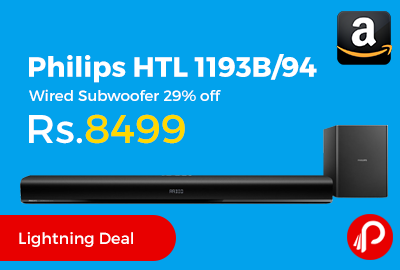 Philips HTL 1193B/94 Wired Subwoofer