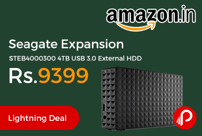 Seagate Expansion STEB4000300 4TB USB 3.0 External HDD