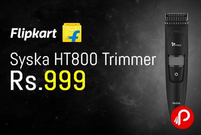 Syska HT800 Trimmer
