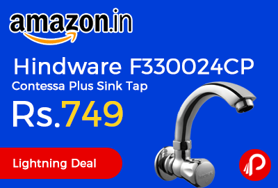 Hindware F330024CP Contessa Plus Sink Tap