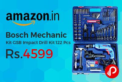 Bosch Mechanic Kit GSB Impact Drill Kit 122 Pcs