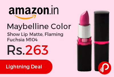 Maybelline Color Show Lip Matte, Flaming Fuchsia M104