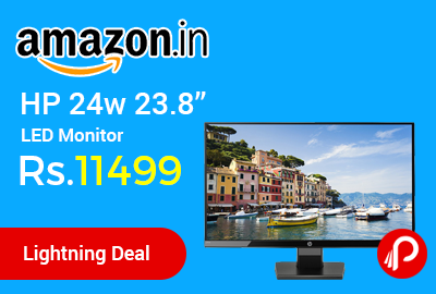 "HP 24w 23.8"" LED Monitor"