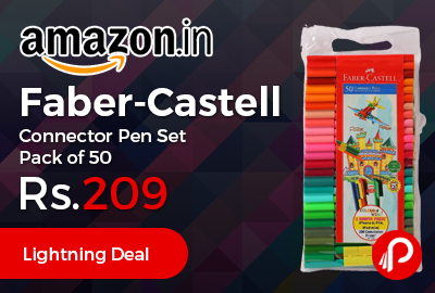 Faber-Castell Connector Pen Set Pack