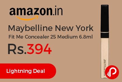 Maybelline New York Fit Me Concealer 25 Medium 6.8ml