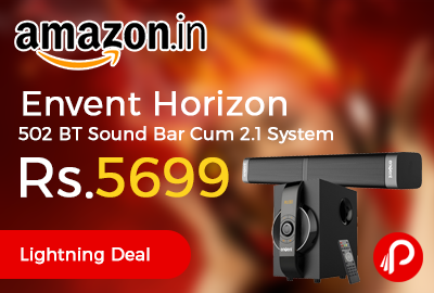 Envent Horizon 502 BT Sound Bar Cum 2.1 System