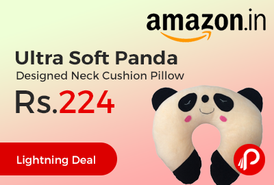 Ultra Soft Panda Designed Neck Cushion Pillow