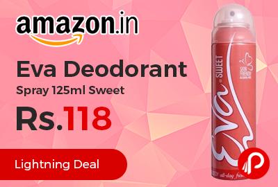 Eva Deodorant Spray 125ml Sweet