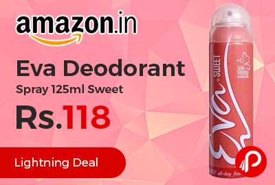 Eva Deodorant Spray 125ml Sweet