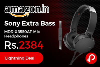 Sony Extra Bass MDR-XB550AP Mic Headphones