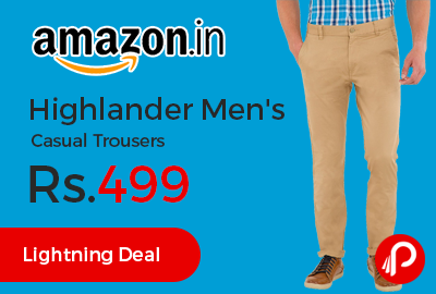 Highlander Men's Casual Trousers