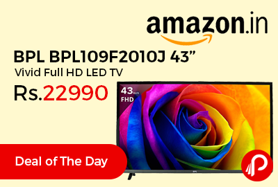 "BPL BPL109F2010J 43"" Vivid Full HD LED TV"