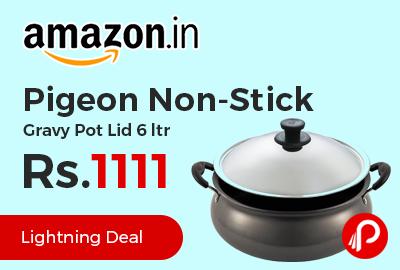 Pigeon Non-Stick Gravy Pot Lid 6 ltr