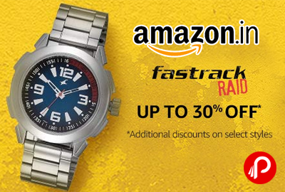 Fastrack Watches Raid