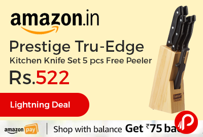 Prestige Tru-Edge Kitchen Knife Set 5 pcs