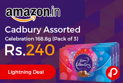 Cadbury Assorted Celebration 168.8g