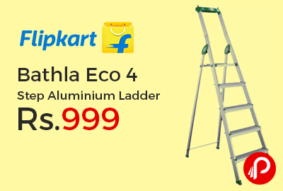 Bathla Eco 4 Step Aluminium Ladder