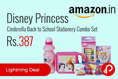 Disney Princess Cinderella Back to School Stationery Combo Set