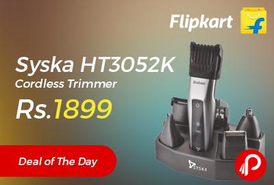 Syska HT3052K Cordless Trimmer