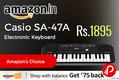Casio SA-47A Electronic Keyboard